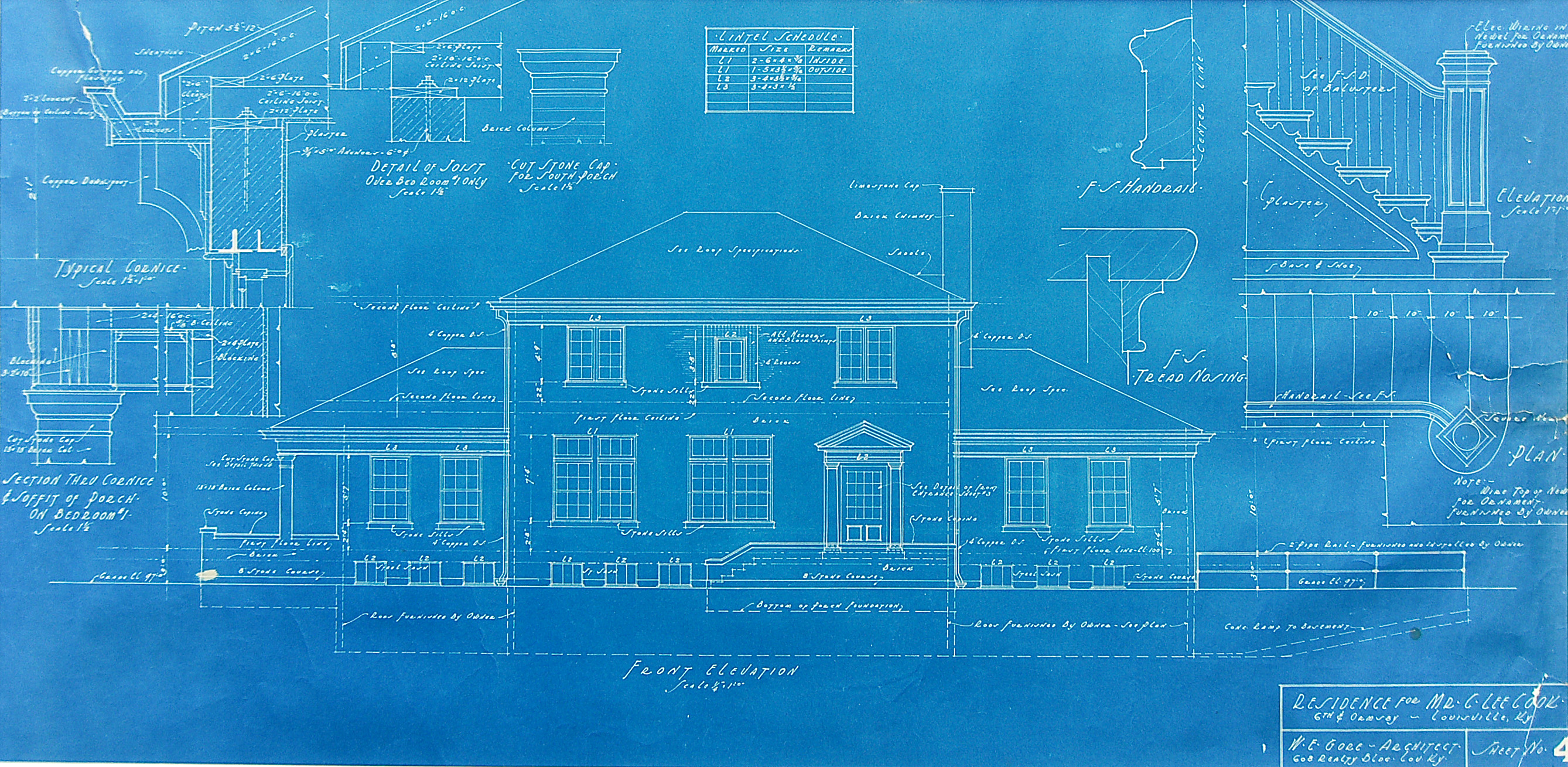 1244 Sixth Street The Blueprints
